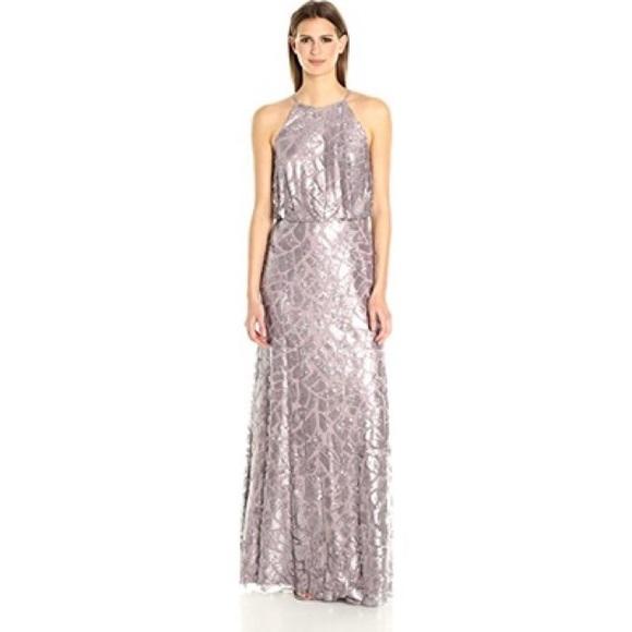 38% off Donna Morgan Dresses & Skirts - Donna Morgan Halter Purple ...